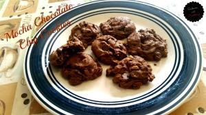 Mocha Choc Chip Cookies