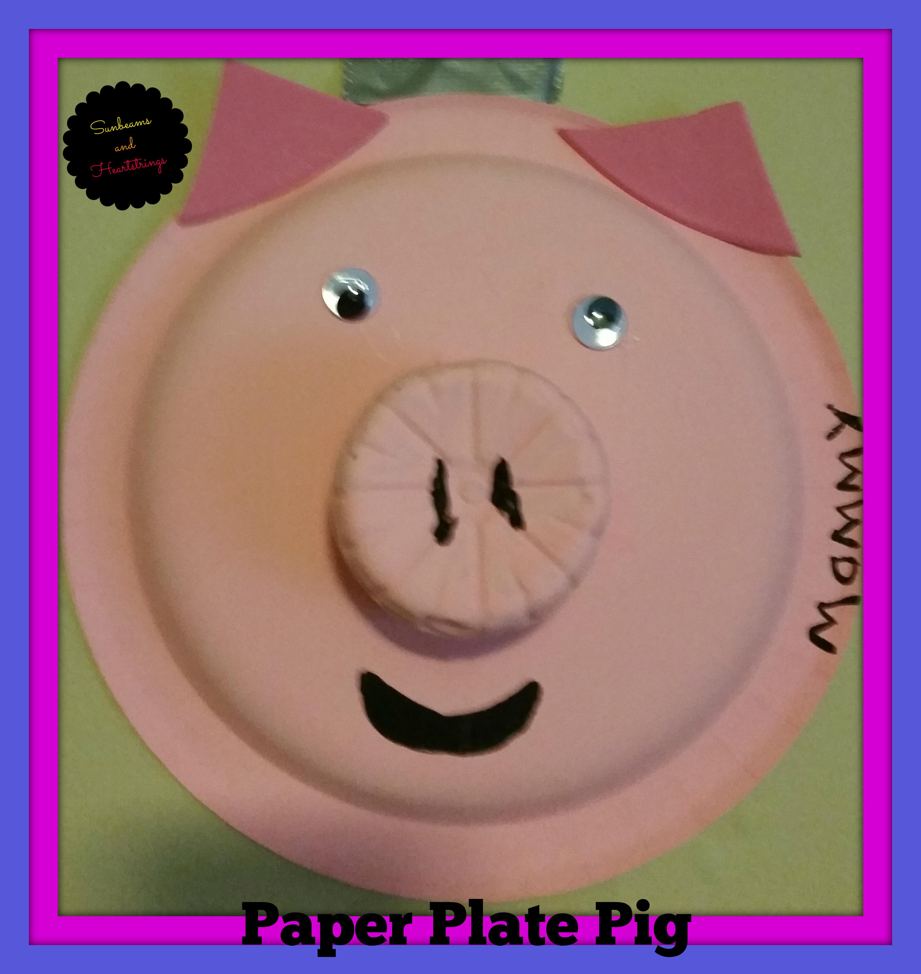 pig & Easy Craft | sunbeams and heartstrings