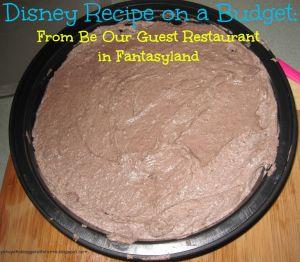 Disney Recipe on a Budget - The Grey Stuff