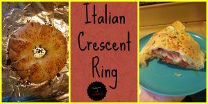 Italian Crescent Ring