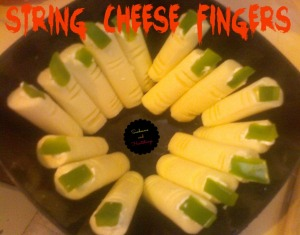 String Cheese Fingers
