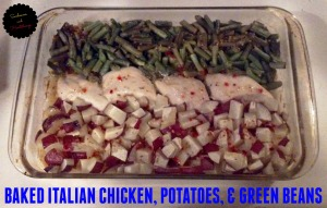 one pan Italian chicken dish 2